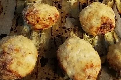 Puten-Käse-Frikadellen aus dem Backofen 2