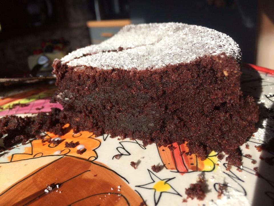 Veganer Schokoladenkuchen Super Saftig Und Lecker Von Monks