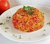 Kritharaki mit Tomaten