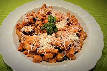 One Pot Pasta mit Zucchini, Tomaten und Parmesan 1