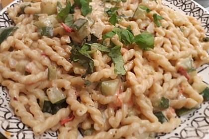 One Pot Pasta mit Zucchini, Tomaten und Parmesan 6