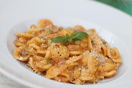 One Pot Pasta mit Zucchini, Tomaten und Parmesan 5