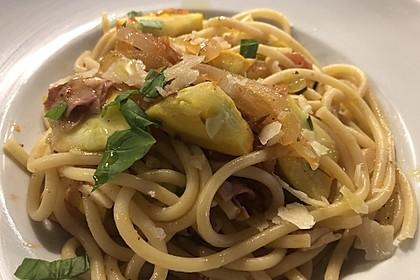 One Pot Pasta mit Zucchini, Tomaten und Parmesan 7