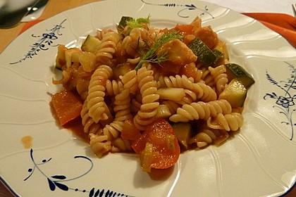 One Pot Pasta mit Zucchini, Tomaten und Parmesan 8