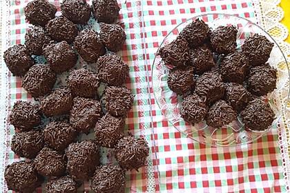 Rumkugeln aus Kuchenreste