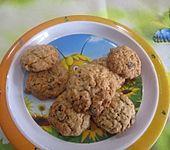 Schwedische Schoko-Haferflocken Cookies (Bild)