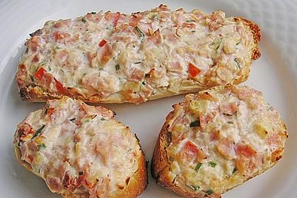 Crostini mit bunter Ricottapaste 1