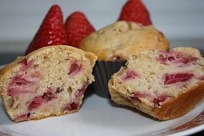 Walnuss - Erdbeer - Muffins 2