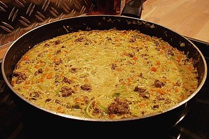 Curryrahmnudeln mit Hack 45