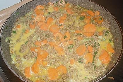 Curryrahmnudeln mit Hack 79
