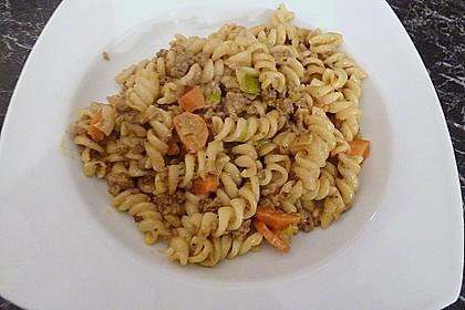Curryrahmnudeln mit Hack 29