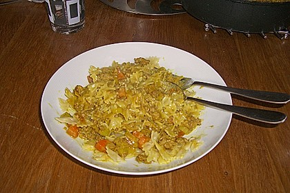 Curryrahmnudeln mit Hack 61