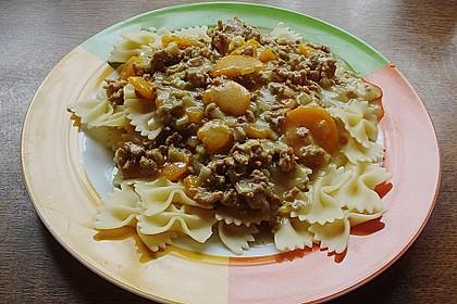 Curryrahmnudeln mit Hack 16