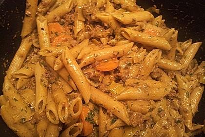 Curryrahmnudeln mit Hack 55