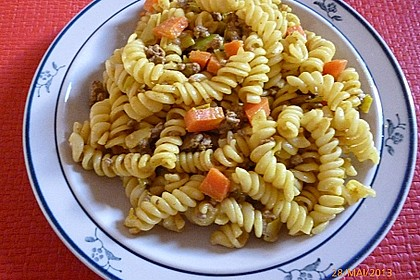 Curryrahmnudeln mit Hack 44