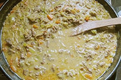 Curryrahmnudeln mit Hack 66