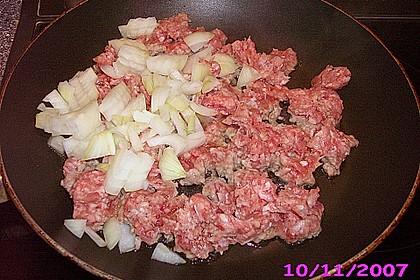 Blätterteigtaschen mit Hackfleisch und Feta 7
