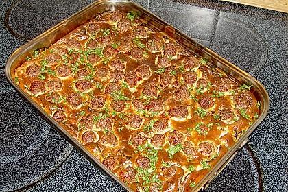 Bratwurstbällchen auf Sauerkraut 1