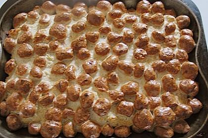 Bratwurstbällchen auf Sauerkraut 11