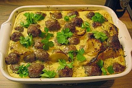 Bratwurstbällchen auf Sauerkraut 12