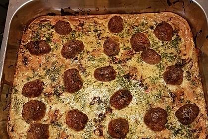 Bratwurstbällchen auf Sauerkraut 15