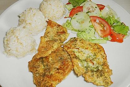 Gebackener Viktoriabarsch mit Kräuter - Reis 3