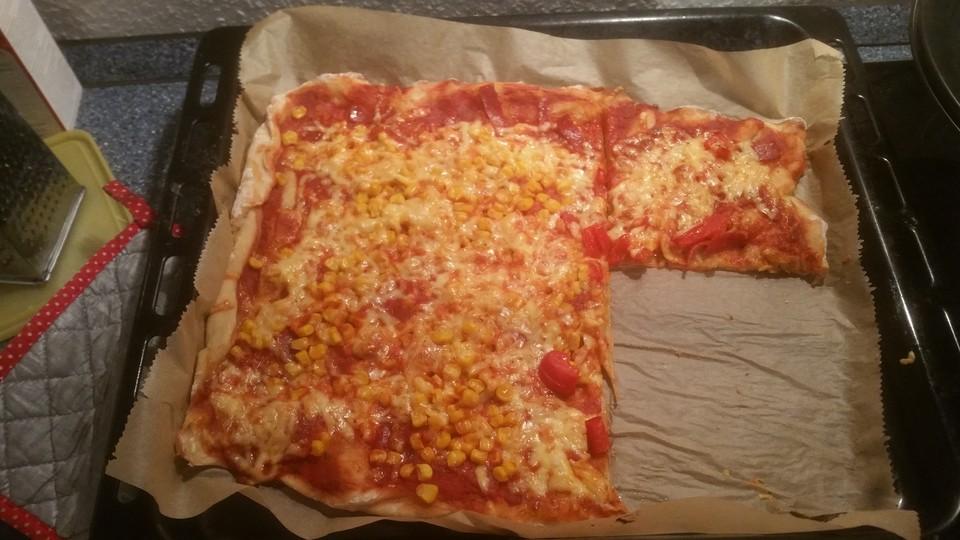 Italienischer Pizza Hefeteig Von Dragonfly Lady Chefkochde