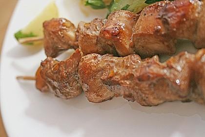 Geflügel - Satay - Spieße