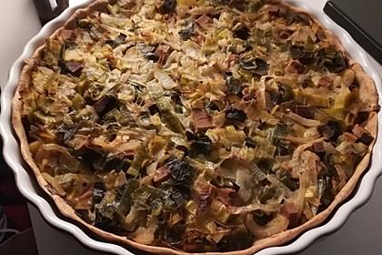 Zwiebelkuchen vegan 4