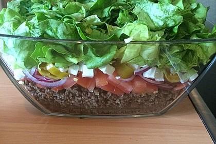 Schichtsalat auf griechisch 6