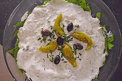 Schichtsalat auf griechisch 1