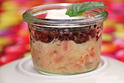 Lachs - Orangen - Tartar mit  Belugalinsen 7