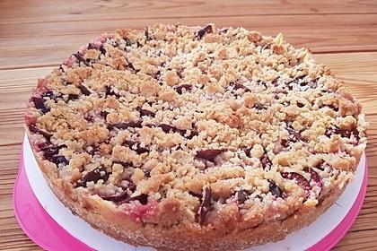 Zwetschgen-Streuselkuchen mit Pudding 58