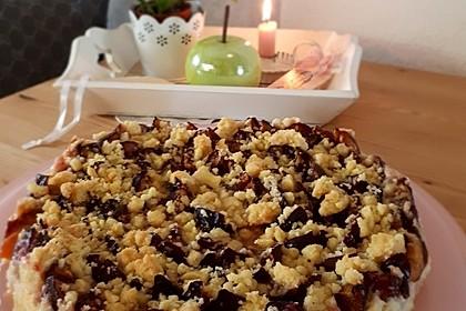 Zwetschgen-Streuselkuchen mit Pudding 55