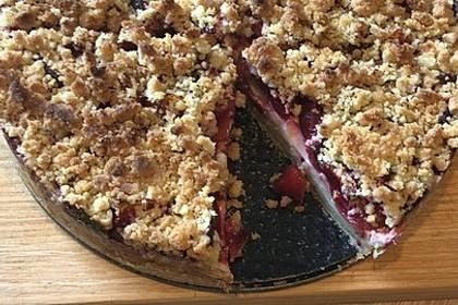 Zwetschgen-Streuselkuchen mit Pudding 54