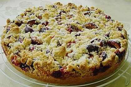 Zwetschgen-Streuselkuchen mit Pudding 41