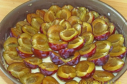 Zwetschgen-Streuselkuchen mit Pudding 96