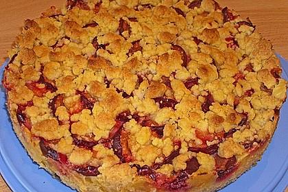 Zwetschgen-Streuselkuchen mit Pudding 62