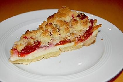 Zwetschgen-Streuselkuchen mit Pudding 8
