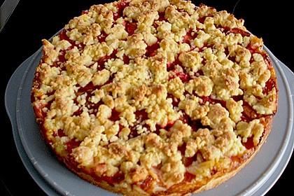 Zwetschgen-Streuselkuchen mit Pudding 144