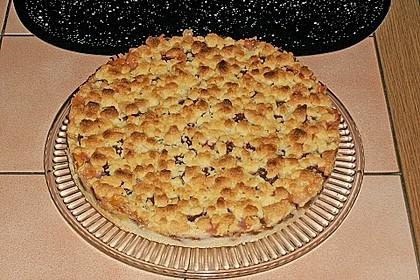 Zwetschgen-Streuselkuchen mit Pudding 95