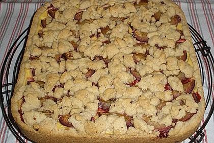 Zwetschgen-Streuselkuchen mit Pudding 94