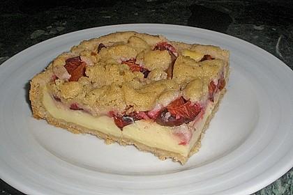 Zwetschgen-Streuselkuchen mit Pudding 44