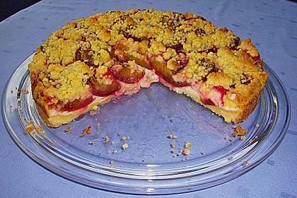 Zwetschgen-Streuselkuchen mit Pudding 45