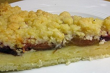 Zwetschgen-Streuselkuchen mit Pudding 104
