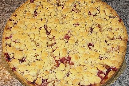 Zwetschgen-Streuselkuchen mit Pudding 116