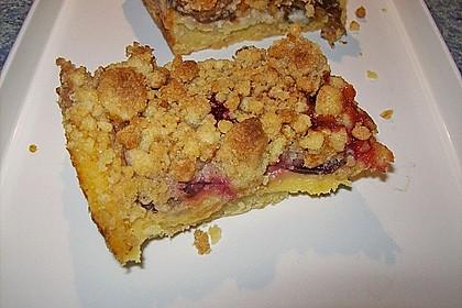 Zwetschgen-Streuselkuchen mit Pudding 89