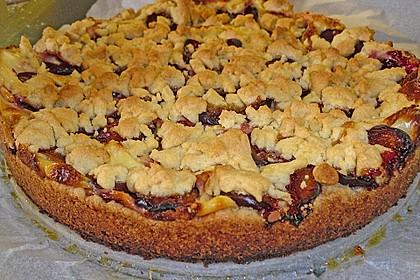 Zwetschgen-Streuselkuchen mit Pudding 61