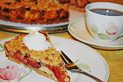 Zwetschgen-Streuselkuchen mit Pudding 3