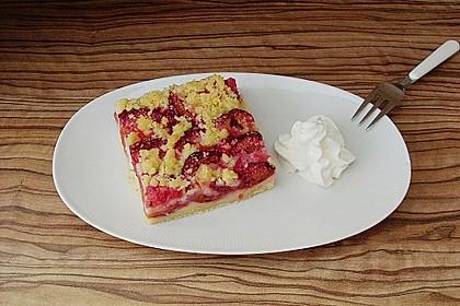Zwetschgen-Streuselkuchen mit Pudding 19